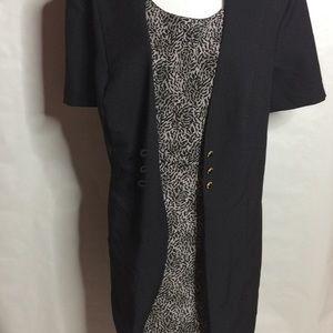 Dresses & Skirts - Printed Plus Size Dress, NWOT B1